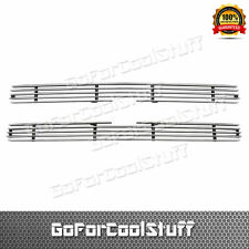 For Chevy 1991-1992 S-10 Pickup Upper Replacement Bolton Billet Grille Insert