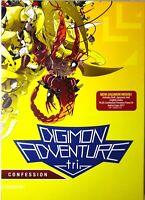 DIGIMON ADVENTURE - TRI: CONFESSION (DVD) NEW