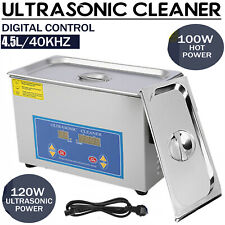 New Stainless Steel 45l Liter Industry Heated Ultrasonic Cleaner Heater Withtimer