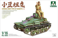 TAKOM 1009 1/16 Scale 1/16 Chinese Armu Type 94 Tankette + figures 2019 NEW