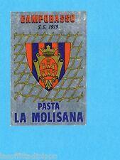 PANINI CALCIATORI 1984/85 -FIGURINA n.343- CAMPOBASSO - SCUDETTO -Recuperata
