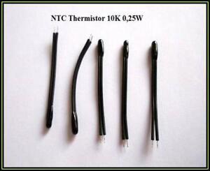 NTC Fühler Heizung Thermistor Temperatur Sensor 10K 0,25W 5 Stück