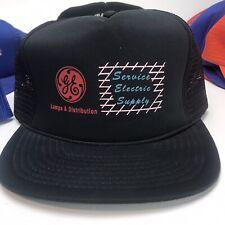 Lot of 10 Vintage Snapback Mesh Trucker Hats General Electric Utah Kentucky