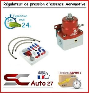 Régulateur de pression d'essence kit pro durite renforcé réglable convient OPEL