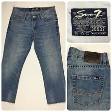 """Seven 7 Mens Jeans 30x32 Straight Hemmed to Inseam 25 1/2"""""""