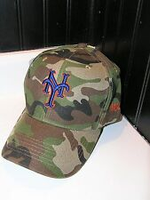 Brand new New York Mets adjustable army camo baseball hat cap OSFA