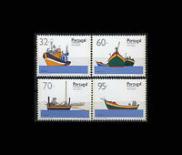 MADEIRA, PORTUGAL, Sc #143-46, MNH, 1990, Boats of Madeira, AR6SSI-9