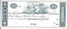 New York Village of Catskill184X Aquaduct Association $10 Punch Cnl 2 maids Repr
