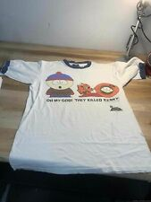 Men's 1997 South Park Kenny White Shirt Size L, Made in Usa