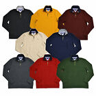 Tommy Hilfiger Sweater Mens Half Zip Classic Fit Mock Neck Pullover Long Sleeve