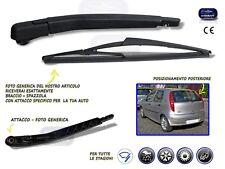 Braccio Spazzolante Tergicristallo posteriore+spazzola per Fiat Punto 5p. 1999>
