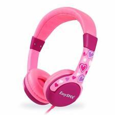 Kids Headset, Comfortable Kids Headphones Friendly Kids Safe On-Ear Headsets