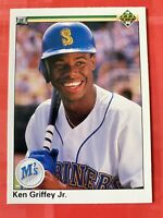 NRMT - MINT 1990 Upper Deck #156 Ken Griffey Jr. Baseball Card MT SHARP!!
