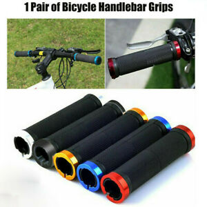 2pcs Rubber Mountain Bicycle Mtb Handlebar Grips Moutain Road Bike Accessories