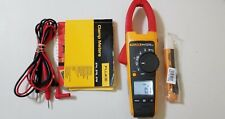 USED FLUKE 374 TRUE RMS AC/DC, CLAMP METER  WITH MANUAL  TP# 256472