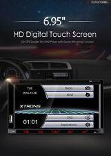 AUTORADIO UNIVERSALE NAVIGATORE GPS 2 DIN DVD USB SD DVX MP3 BLUETOOTH XTRONS