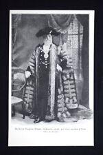 Walter Vaughan Morgan, sindaco di Londra nel 1906, a Parigi Stampa del 1906