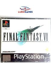 Final Fantasy 7 PSX PS1 First Ed Playstation Nuevo Precintado Sealed New PAL/SPA