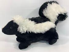 "Cute Wild Republic Plush Black and White Skunk 15"" of Soft Cuddling Animal"