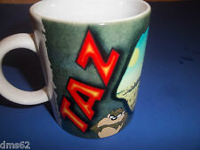 NEW TAZ   LOONEY TUNES COFFEE CUP