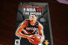 NBA 2010: The Inside (PlayStation Portable, 2009) Complete Free Shipping