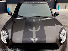 Rally Stripe Stripes & Rocker Graphics fit any Mini Cooper Countryman JCW