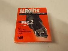 4~ ~ Autolite Copper Core Spark Plugs 145