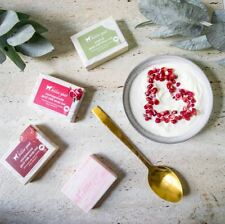 New Goat Milk Soap Bar Trio free to choose from Original/Pomegranate/sandalwood