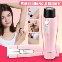 Mini Lady Electric Women Facial Shaver Wet & Dry Razor Hair Remover Trimmer Body