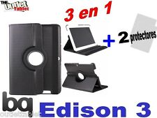 """PACK 3 IN 1 COVER SWIVEL FOR TABLET BQ EDISON 3 QUAD CORE 10.1"""" + ACCESSORIES"""