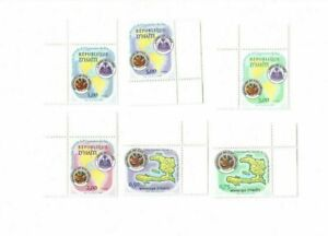 Haiti 1995 - 25th Assembly of the O.A.S - Set of 6 Stamps - MNH