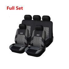 Set COMPLETO Car Seat Covers Cuscini Lavabile Ricamo interni Accessori Arredamento