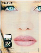 PUBLICITE ADVERTISING 105  2002  CHANEL   maquillage PERLES DE CHANEL
