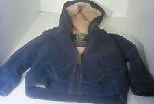 LL Bean 12-18M Boys Hoodie Sweatshirt Jacket