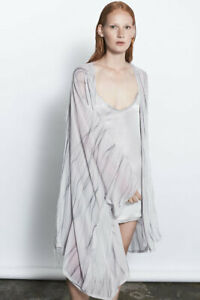 JACINTA JAMES Vol 1. 100% Silk Kimono / Robe New Condition Ladies Size Med - L