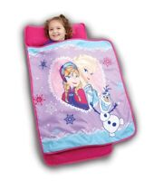 Disney Frozen Elsa Anna and Olaf Sisterly Love Toddler Nap Mat Kids Girls New