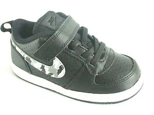 Nike Court Borough Boys Shoes Trainers Uk Size 7.5    Toddlers  870029 005