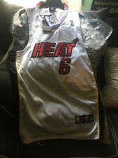 Rare Adidas NBA Miami Heat Lebron James Basketball Jersey