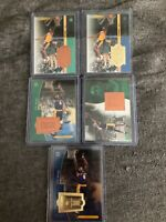 1998-99 SPX Finite Kobe Bryant Lot 5 Cards 3rd Year All Serially Numbered WOW