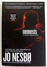 Nemesis Jo Nesbo 2011 Paperback  Crime Mystery fiction book Novel