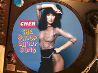 """CHER - The Shoop Shoop Song Ultra Rare 12"""" Picture Disc Maxi Single LP"""