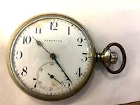 Vintage Perfecta Pocket Watch Orologio da tasca anni '40