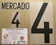 MERCADO Argentina #4  Name Number  Professional Size Copa America 2016