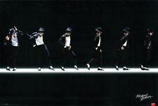 Michael Jackson Classic Moonwalk Dance on Stage 24x36 Poster King of Pop Music