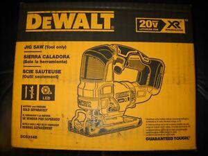 DeWalt DCS334B Brushless Cordless Jig Saw 20V Orbital Action NEW Jigsaw