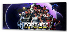 Fortnite 2 Long Canvas Picture