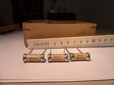 NOS Sikatrop 10.000pF 500V 1500knh Vintage Kondensator Paper Capacitor KLANGFILM