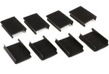 Intellistage ISSKRTCLIPX8 - 8 Pack of Loop & Hook Covered Clips for Skirts