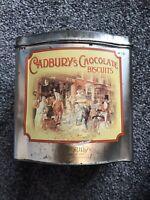 Vintage Cadbury's 'Chocolate Biscuits' Biscuit Tin