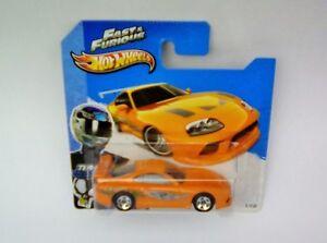 HotWheels Diecast 2013 - Fast & Furious TOYOTA SUPRA - NEW - Sealed